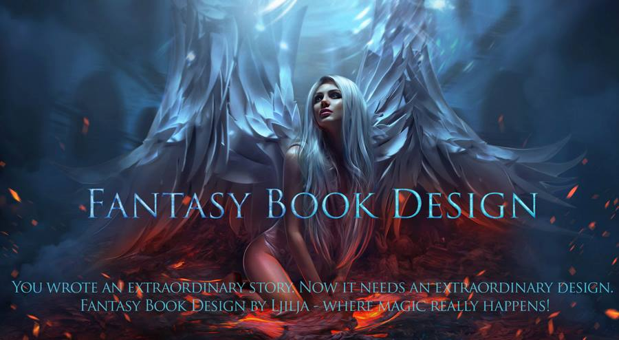 Book Cover Fantasy Explanation : Portfolio fantasy book design