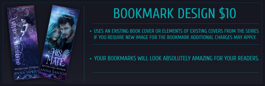 bookmarks design marketing material