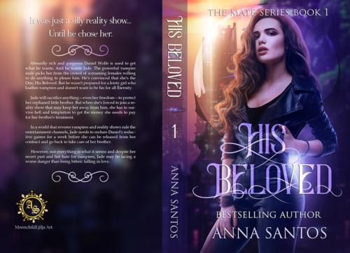 full wrap book cover design